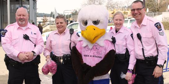 SPA Pink Shirt Day - Royal Oak Middle School
