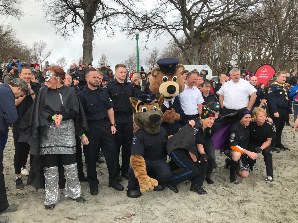 SPA at the Polar Plunge for Special Olympics