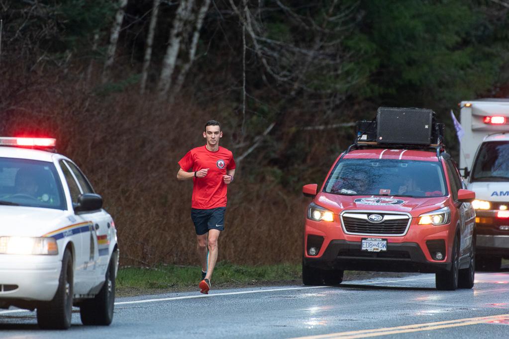 Wounded Warrior Run - Mark Blachuras