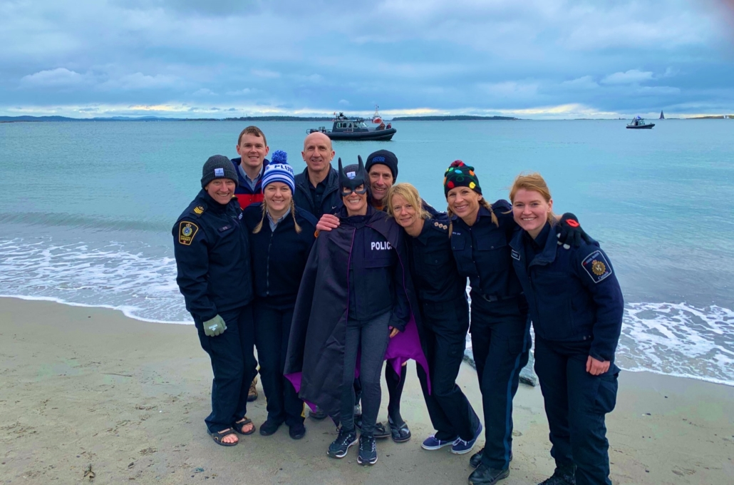 SPA Polar Plunge for Special Olympics