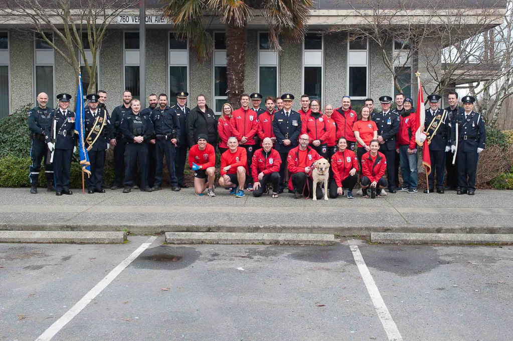 Wounded Warriors with Saanich Police